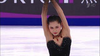 Сатоко Мияхара. Короткая программа. Женщины. Rostelecom Cup. Гран-при по фигурному катанию 2019/20