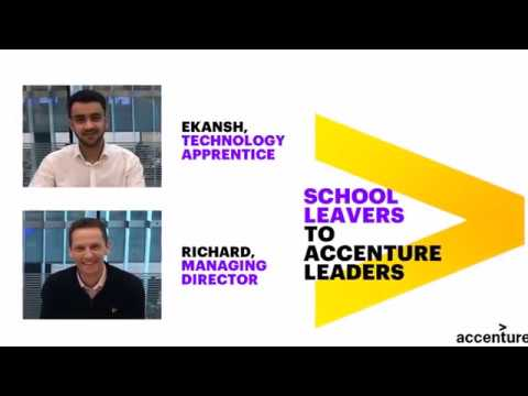 School Leavers to Accenture Leaders: Hear from Ekansh