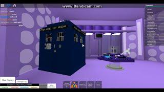 TARDIS INSIDE TARDIS!!! DOCTOR WHO (ROBLOX GAMEPLAY)