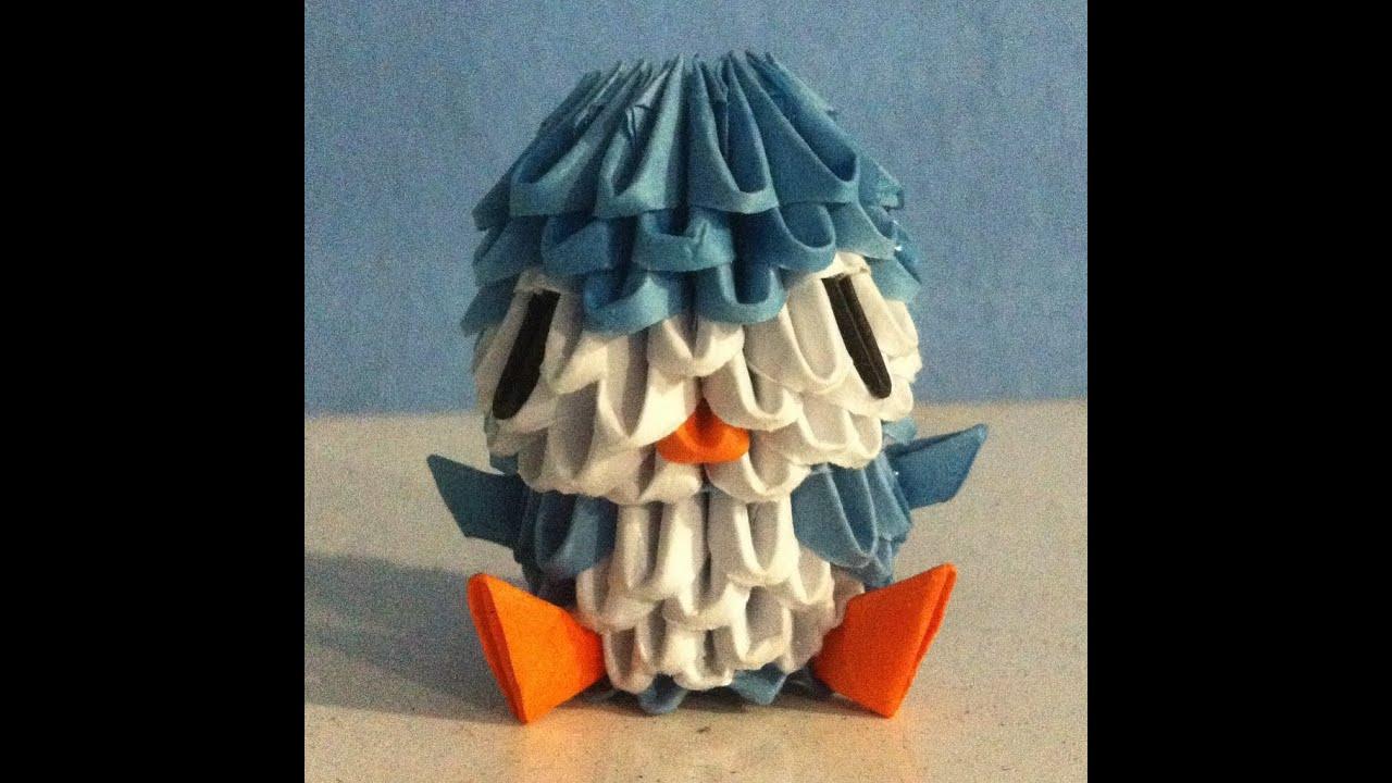 3D Origami Mini Penguin [Tutorial] - YouTube - photo#43