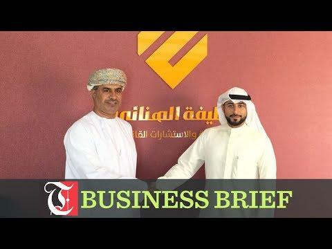 Khalifa Al Hanai inks pact with Kuwaiti firm