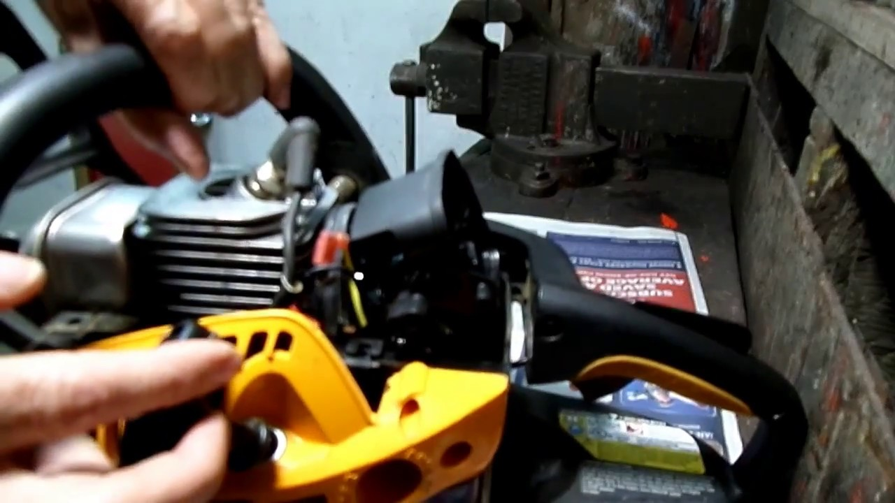 Chainsaw Carburetor Cleaning Part 2