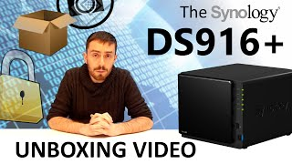 The Synology DS916+ 4-Bay NAS Unboxing featuring Pentium Quad-Core CPU and 8GB RAM