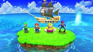 Mario Party: The Top 100 Minigames - Luigi vs Mario vs Wario Vs Waluigi (Master CPU)