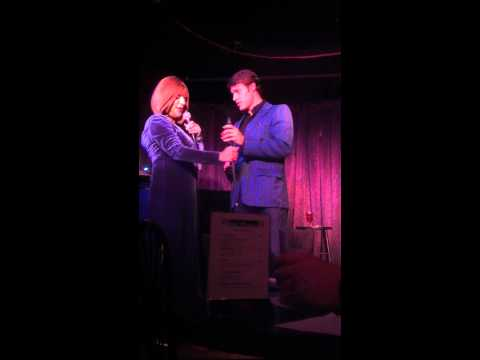 Brock Harris sings with Barbra Streisand