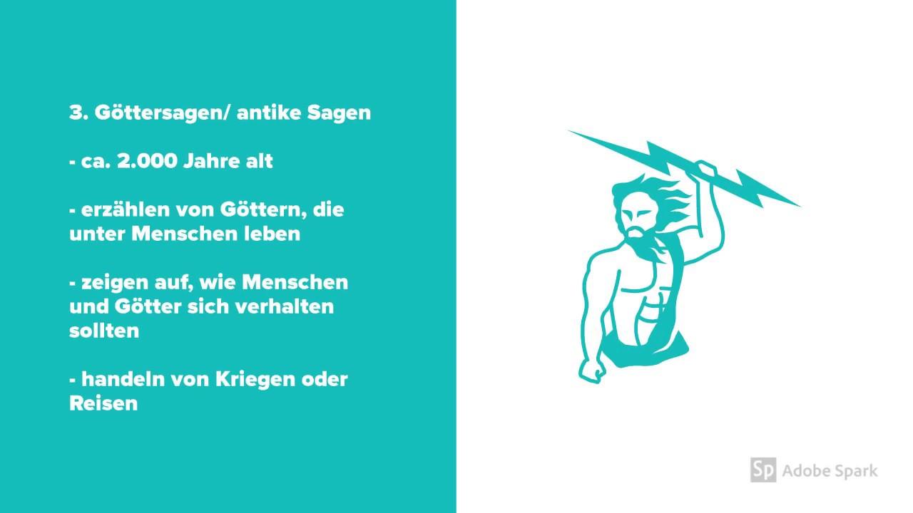 Merkmale Von Sagen Deutsch Klasse 56