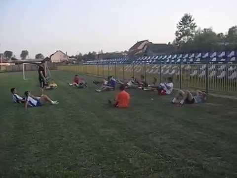 FK BORAC-Vladimirci deo treninga 15-7-2015