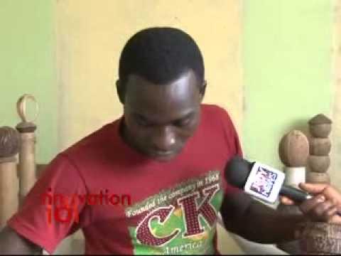 Ghanaian Sculptor on Joy News Innovation 101
