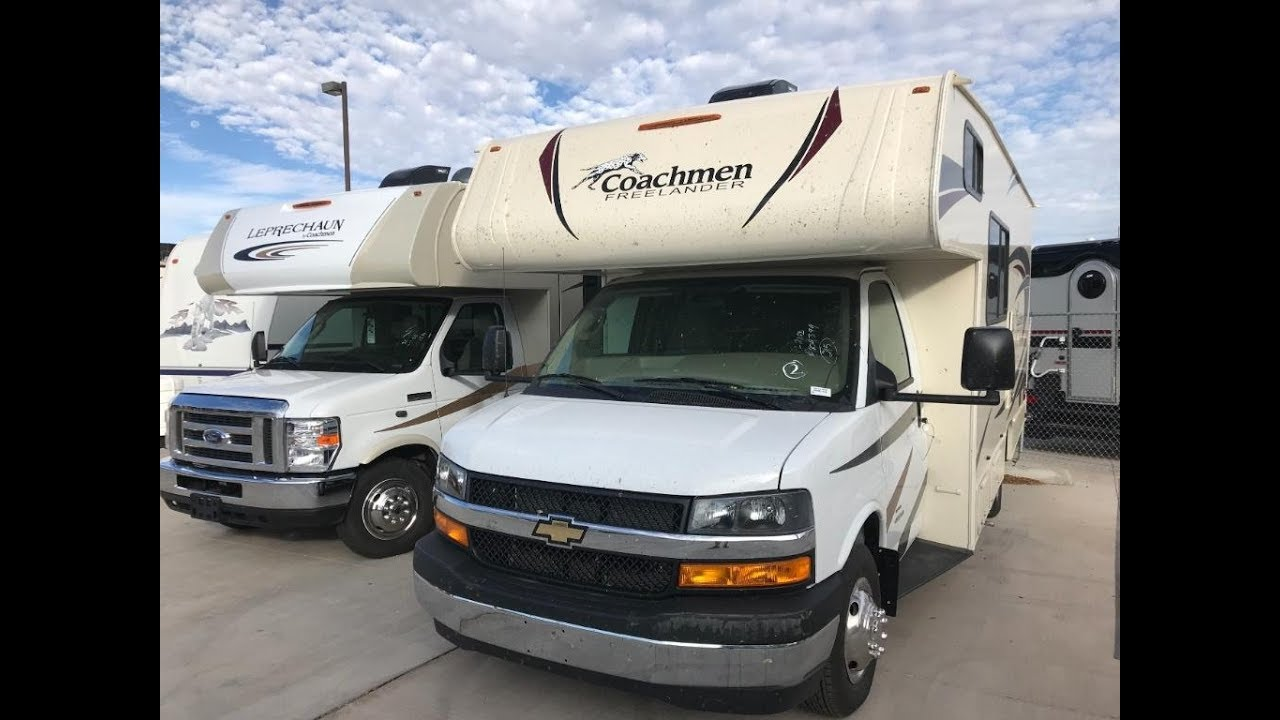 New 2019 Coachmen RV Freelander 21QB Chevy 4500 Motor Home Class C