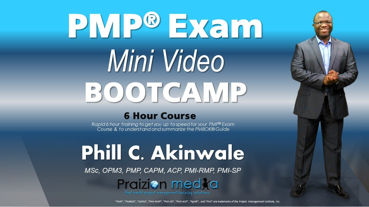 6 Hour Pmp Mini Bootcamp Before Your Live Class Or Study Youtube