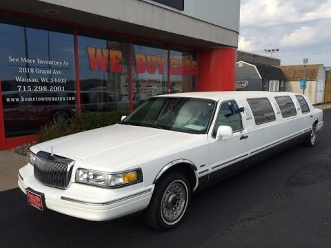 1997 Lincoln Town Car Limo Hometown Motors Of Wausau Used Cars Youtube
