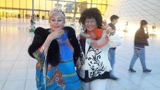 Zeyneb Xanlarova Ilhame Quliyeva ile vidalasir
