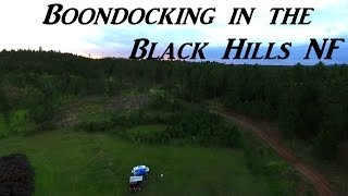 Boondocking in the Black Hills National Forest Vanlife