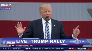 Donald Trump FULL Rally - GREENSBORO, NC - FNN