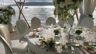 Antibes France Wedding Reception