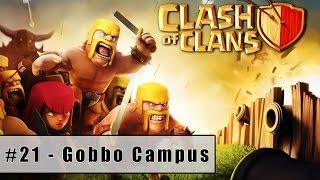 Clash of Clans Single Player Walkthrough | Level 22 - Gobbo Campus (2015) (HD)
