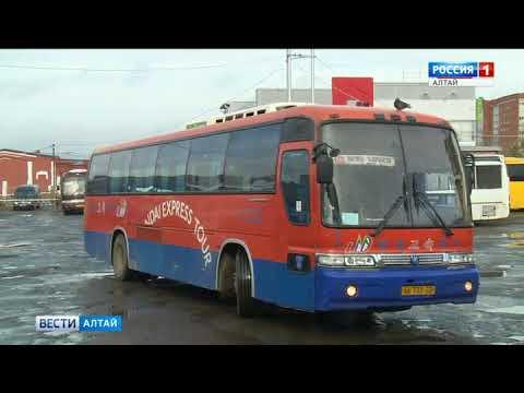 Барнаул опробует новую электронную систему наблюдения за рейсовыми автобусами