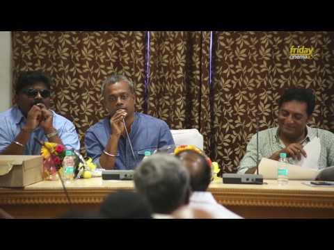gautham vasudev menon 's super interesting speech at TFPC Meet
