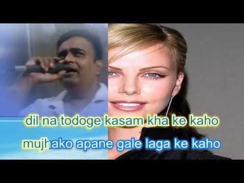 Saare shikve gile bhula ke karaoke only for male singers By Rajesh Gupta