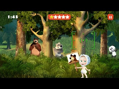 Masha and the Bear: Kids Games Android Gameplay #3
