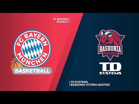 FC Bayern Munich - TD Systems Baskonia Vitoria-Gasteiz Highlights | EuroLeague,