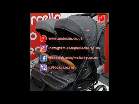 Carrello Connect прогулочная коляска для двойни