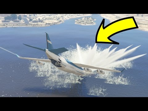 CAN WE SAVE THE CRASHING CARGO PLANE IN GTA 5?