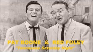 Pat Boone & Red Foley - Tennessee Saturday Night (1955) TV Show