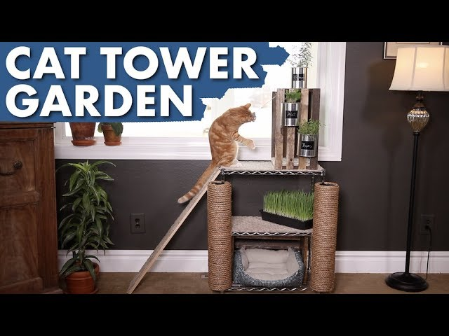 diy-cat-tower-garden-garden-answer