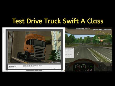 Test Drive Truck Swift A Class   Game Euro Truck Simulator   Part 1  