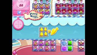 How to beat level 1106 in Candy Crush Saga!!
