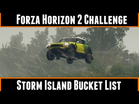 Forza Horizon 2 Challenge Storm Island Bucket List