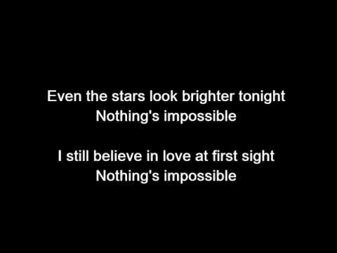 Depeche Mode  - Nothing's impossible (karaoke - instrumental + lyrics)