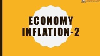 TTL- ECONOMY 28 - Inflation 2 - GS Batch 2019    Civil Services    UPSC    IAS
