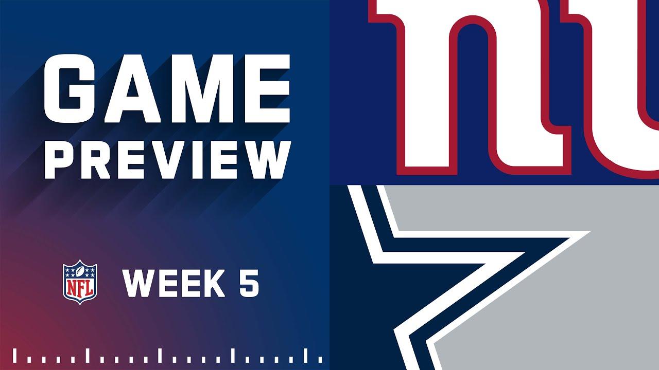 Giants vs. Cowboys: Best photos from Week 5