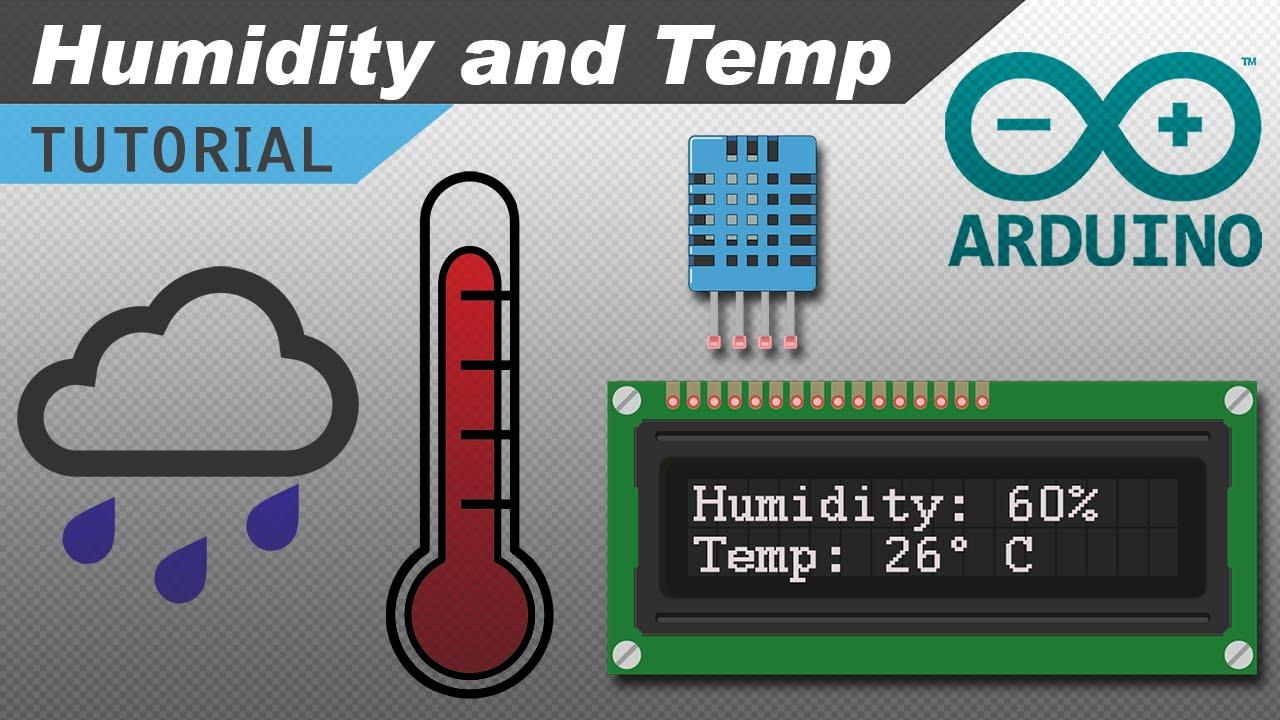 hight resolution of how to set up the dht11 humidity and temperature sensor on an arduino youtube