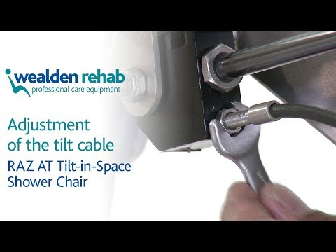 RAZ AT Shower Chair  Tilt in Space Shower Chair