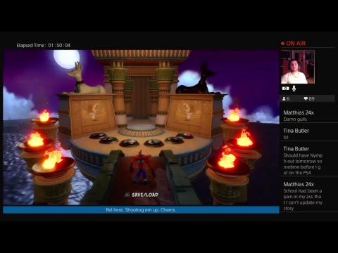 Relentlezz41 // Crash Bandicoot Warped Crystal Run