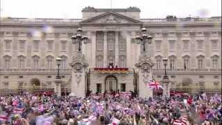 God Save The Queen and 3 Cheers for Her Majesty 2012