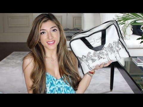 What's In My Travel Beauty Bag - VIDCON 2014! | Amelia Liana
