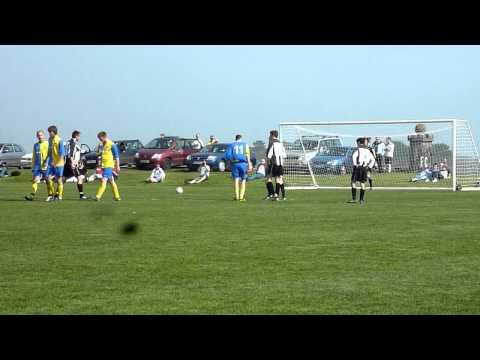 St John's Stephen Glover 1st penalty attempt v Col...