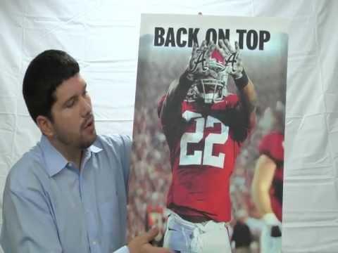 Alabama Football - Canvas Gallery Wraps