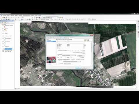 Przygotowanie kompozycji mapowej na podstawie produktów LiDAR i ortofotomapy