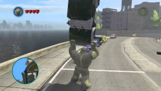 LEGO Marvel Super Heroes The Video Game - Abomination free roam
