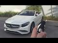 Despertando al Mercedes-AMG S65 Cabriolet 2017