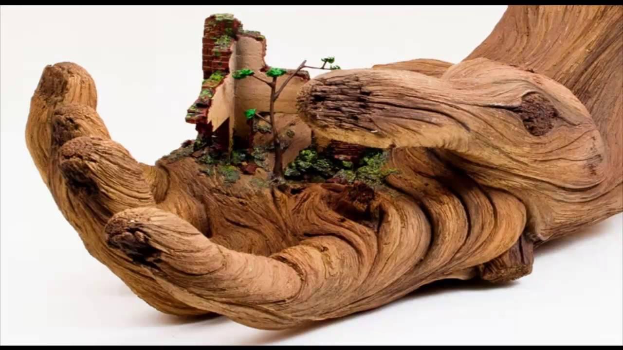 Скульптуры из дерева часть    12