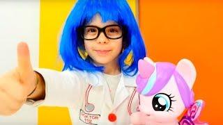Видео для девочек - с Май Литл Пони. Играем вместе!