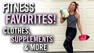 Fitness Favorites 2019   Clothes, Supplements & More!
