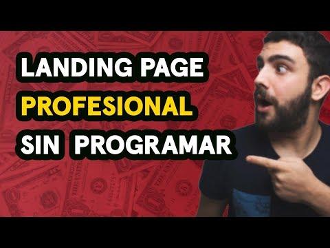 Cómo Crear una Landing Page Profesional Gratis y Sin Programar thumbnail