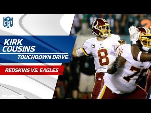 Kirk Cousins Guides Washington on Big TD Drive! | Redskins vs. Eagles | NFL Wk 7 Highlights